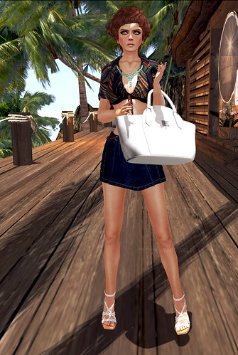 Shopping in summer
