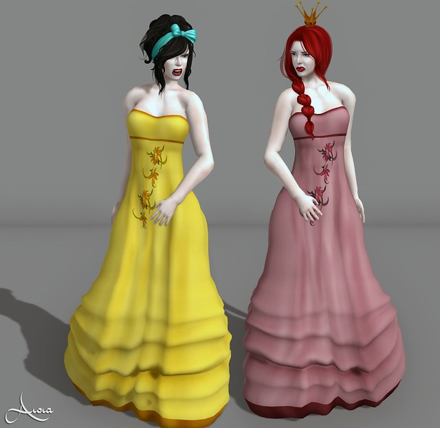 SL Disney Bound - Week 16, Anastasia and Drizella
