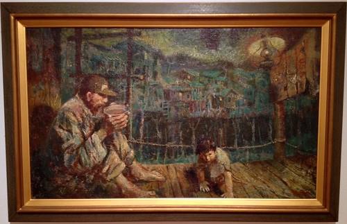 Laments/Remnants (Lamnants) of a war, Chun Hwa-hwang, 1960