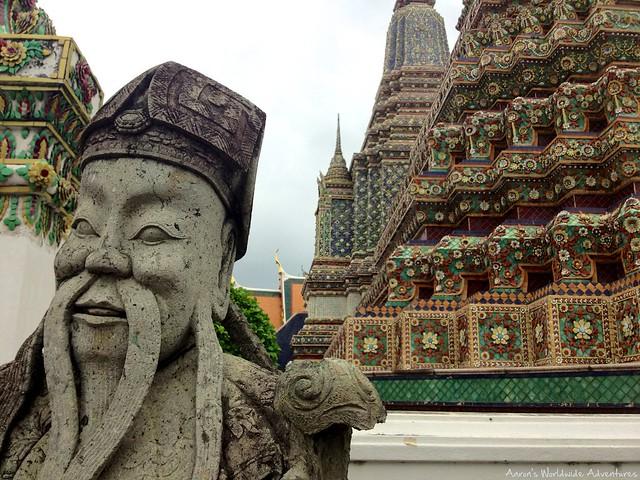 Artwork at Wat Pho