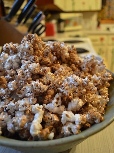 cocoa popcorn