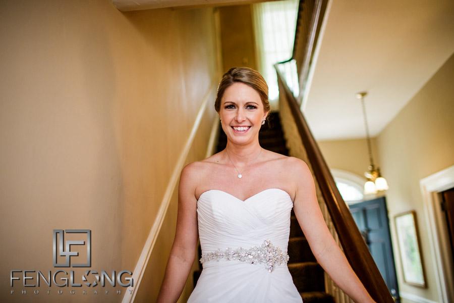 Bride enters reception