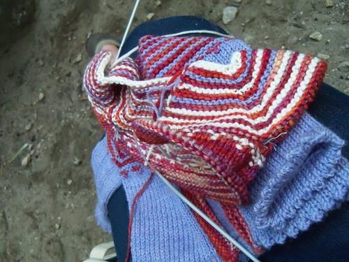 camp knitting
