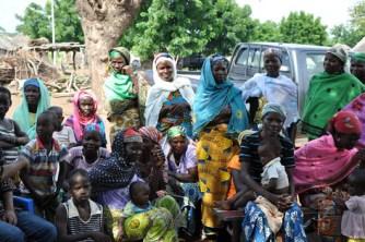 women farmers  in Gbanjong
