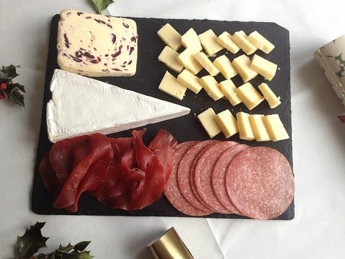 cheese and chacuterie board