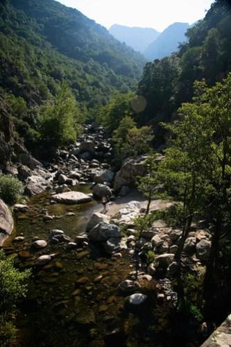Walk from Evisa to Ota, Corsica
