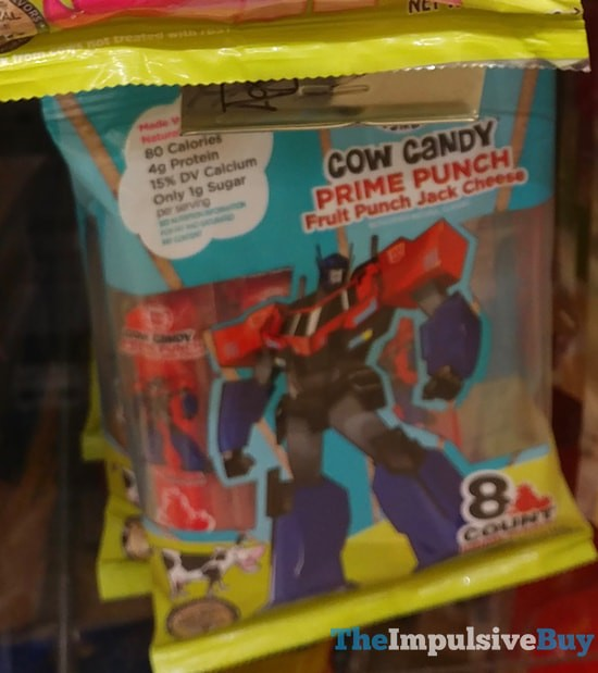 Cow Candy Transformers Prime Punch Jack Cheese