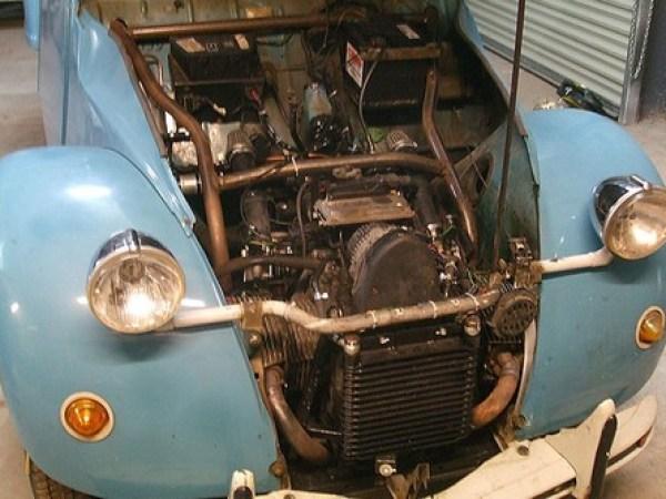 2CV motor BMW 02