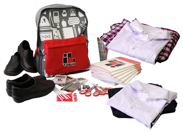 Taguig's free school supplies