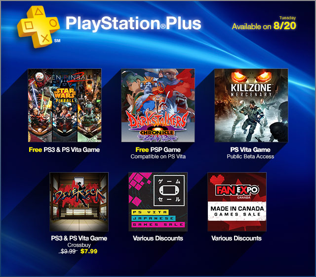 PlayStation Store Update 8-20-2013