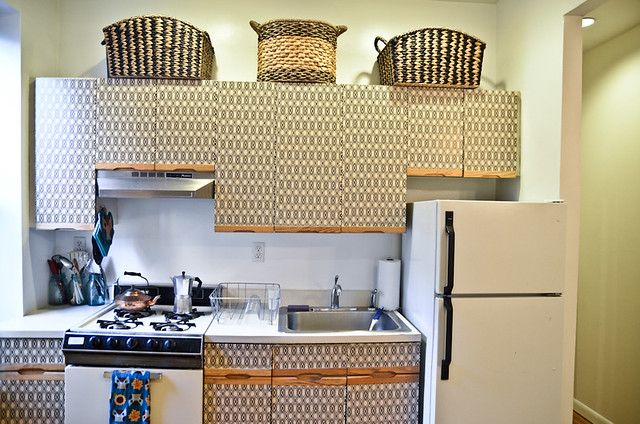 DIY Kitchen Cabinet Makeover For Renters