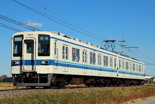 8505F @新郷〜武州荒木