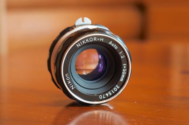 Nikkor-H Auto 50mm F2