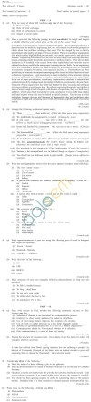 CS Foundation Question Papers Jun 2013 - English and Business Communication