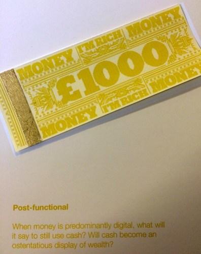 Post-Functional Cash