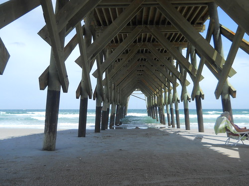 Wrightsville Beach, pier at the Oceana