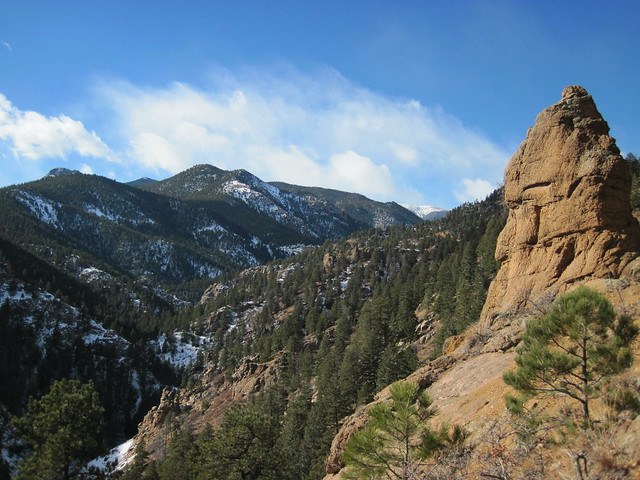 Picture from the Columbine Trail in Colorado Springs