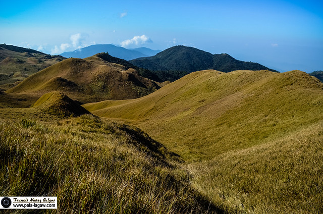 Mountain | Mt Pulag Sunrise In The Rolling Hills ~ Pala-lagaw