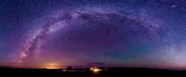 Milky Way over Big Bend Ranch State Park