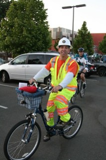 San Jose Bike Party Safety Ride May 2013