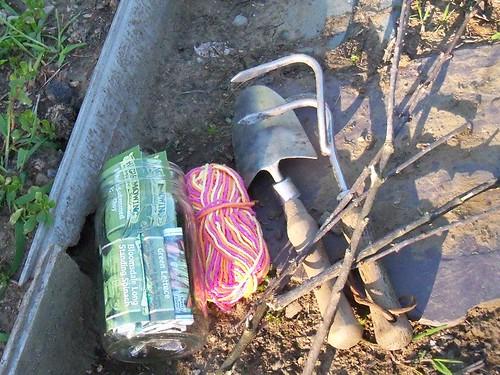 fall garden tools