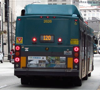 King County Metro 2004 New Flyer DE60LF 2626
