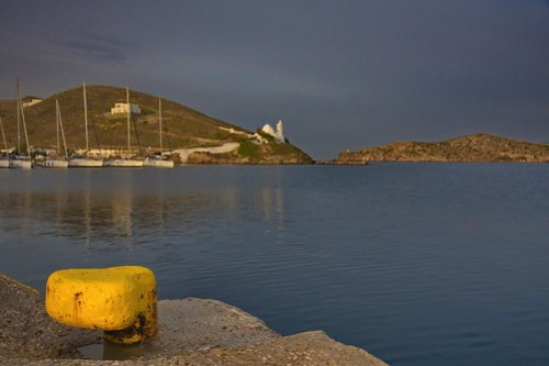 Ios Bay and Cathedral