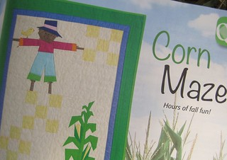 Corn Maze in Quilts from 100 Blocks