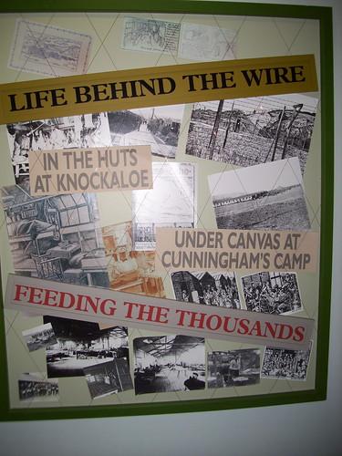 World War One display at The Manx Museum, Douglas, Isle of Man