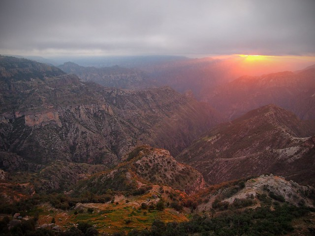 Barranca del Cobre Sunrise