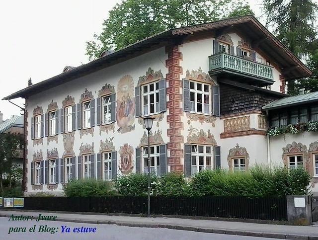 Fachada Cuento Hansel y Gretel en Oberammergau
