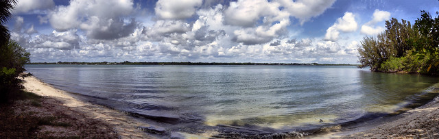 Indian River Panorama HDR
