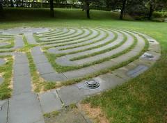 Memorial labyrinth
