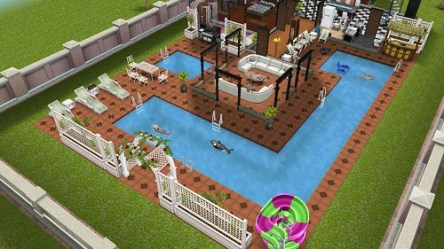 Pool design Unofficial Sims Freeplay/Mobile Forum