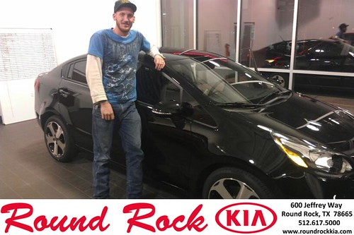 Thank you to Corey  Whitaker on your new 2014 #Kia #Rio from Fernando Fernandez and everyone at Round Rock Kia! #NewCar by RoundRockKia