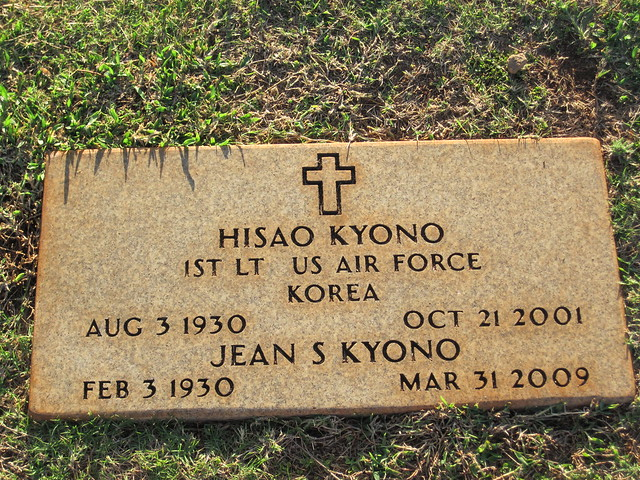 Picture from Kauai's Veteran Cemetery