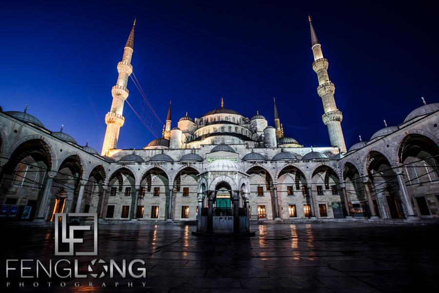 Sunrise at Sultanahmet Blue Mosque