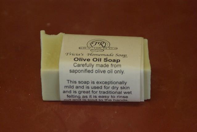 Sensitive skin olive oil soap
