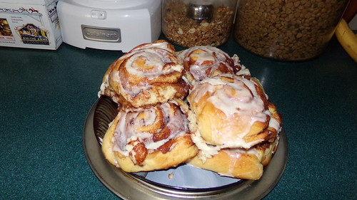 pure sin - homemade cinnamon buns