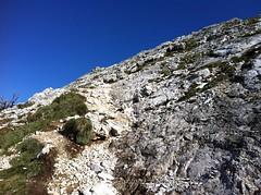 Gipfelaufstieg Herrenstein