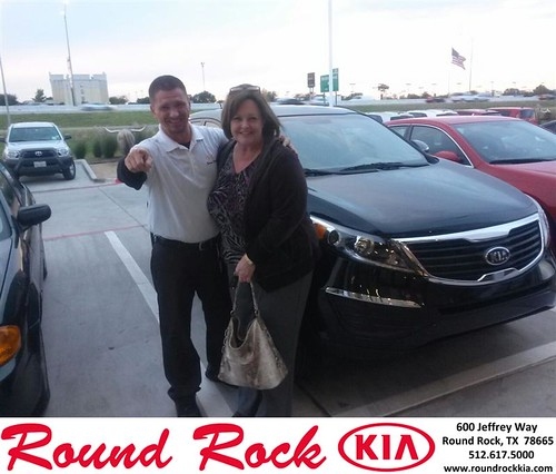 Thank you to Pam Cummins on your new 2013 #Kia #Sportage from Charles Curry and everyone at Round Rock Kia! #LoveMyNewCar by RoundRockKia