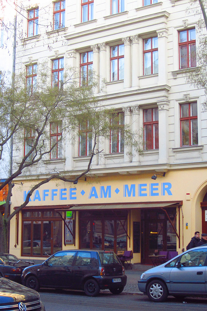 Foto Kreuzberg Bergmannstraße Kaffee am Meer