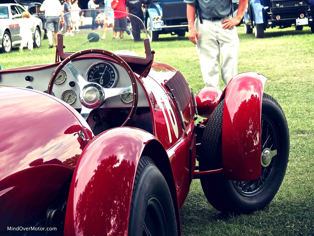 1947 Ferrari 159S Spyder Corsa owned by James Glickenhaus