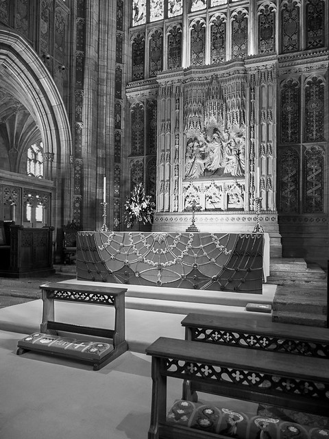 High Altar and Reredos Sherborne Abbey