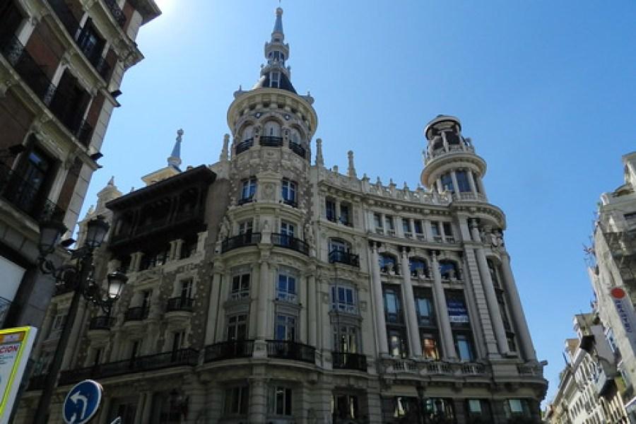 Madrid-Edificio Meneses-Plaza de Canalejas