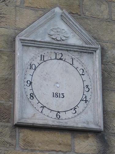 1813 clock, Castleton