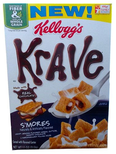 Kellogg's S'mores Krave Cereal