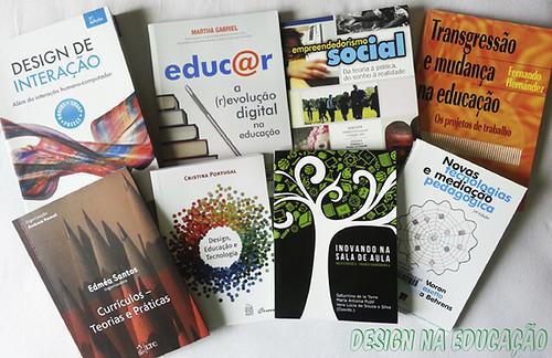 Livros sobre Design, Educação e Tecnologia by thiagoreginaldo