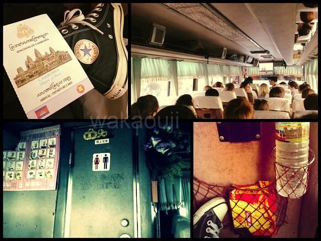 Mekong Express bus Vietnam to Cambodia