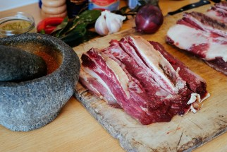 Machaca: pulled beef
